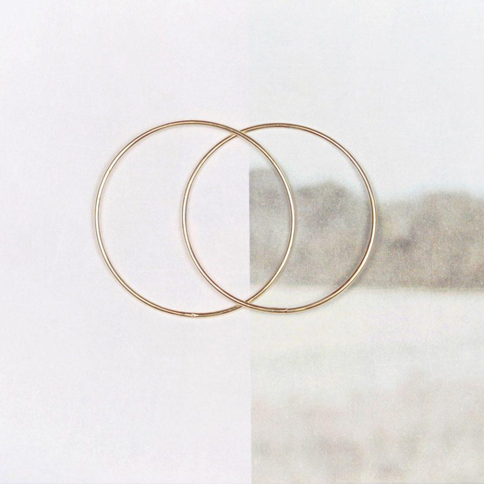 Loop 105. Single earrings