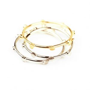 Ring for all fingers _ Yellow and white gold
