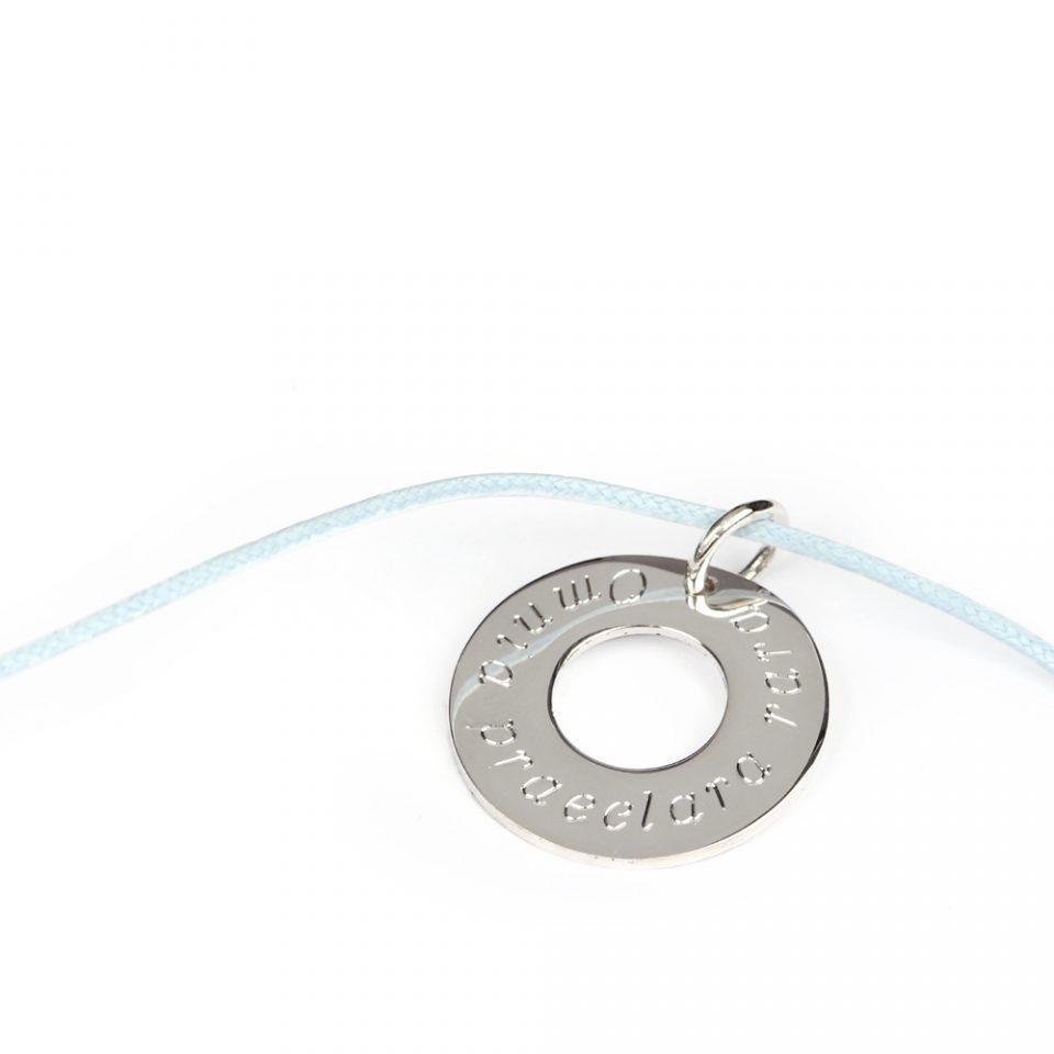 Bagel 22. Silver pendant