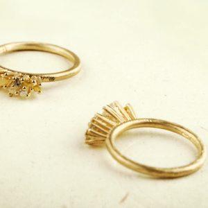"""""""La foresta nel cielo"""" rings"""