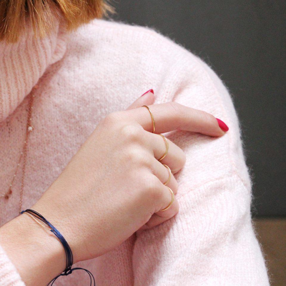 Petalo Blu. Ring