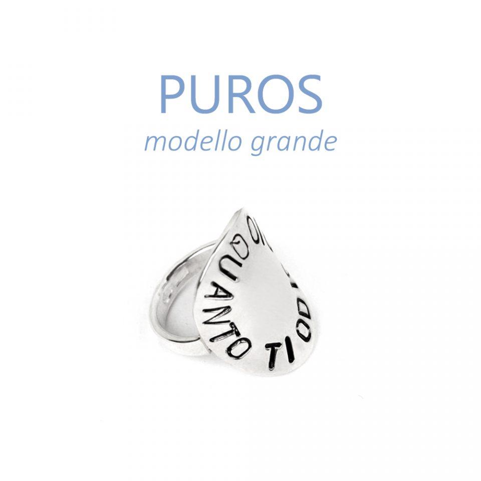 Puros. Silver rings