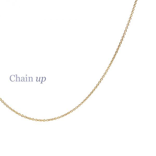 Thin rolò chain necklaces in 9k yellow gold _ maschio gioielli milano (3)