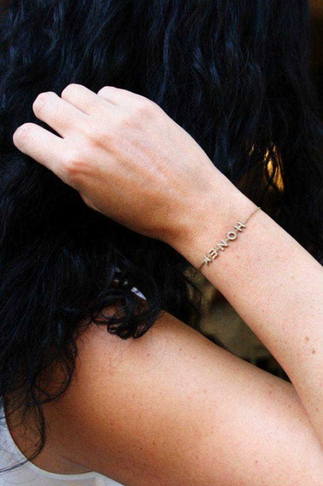Lettera prima. Bracelet