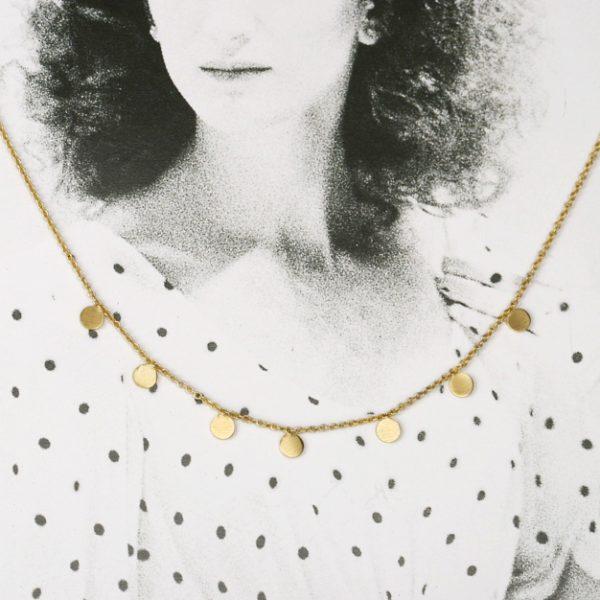 """""""Gatti di Budapest"""" necklace _ circles"""