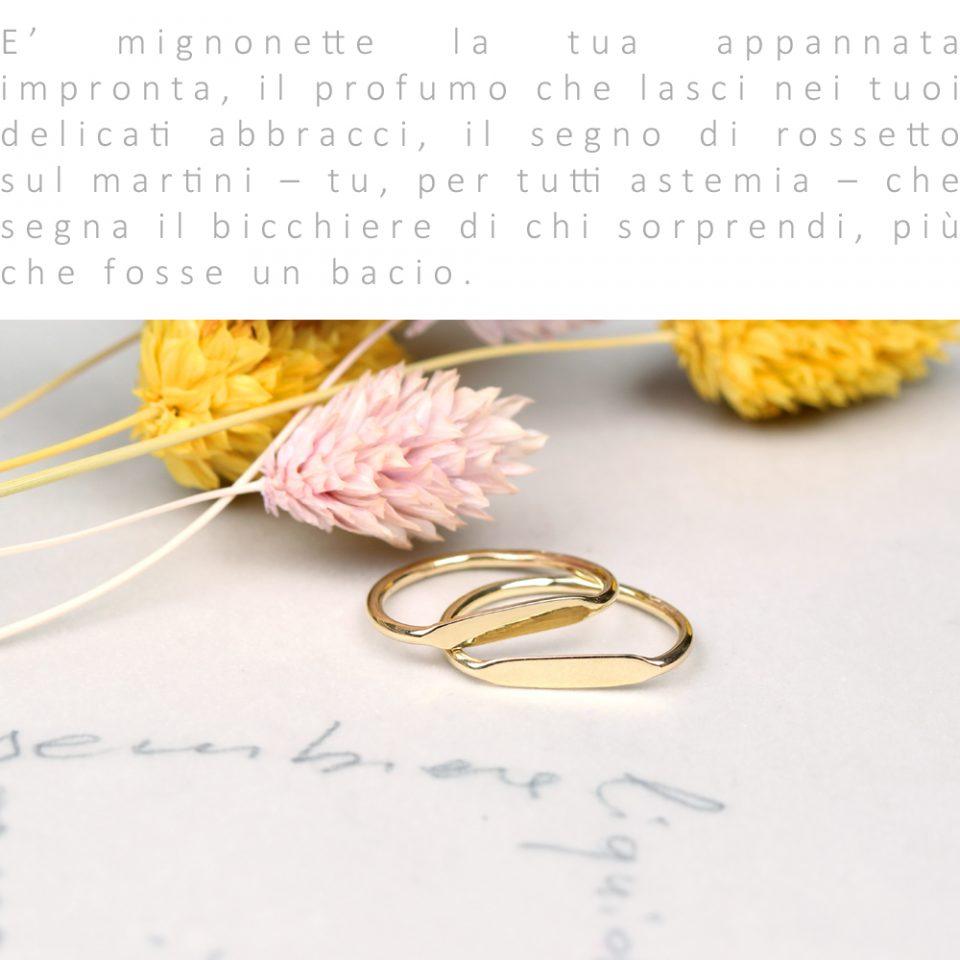 Mignonette. Ring