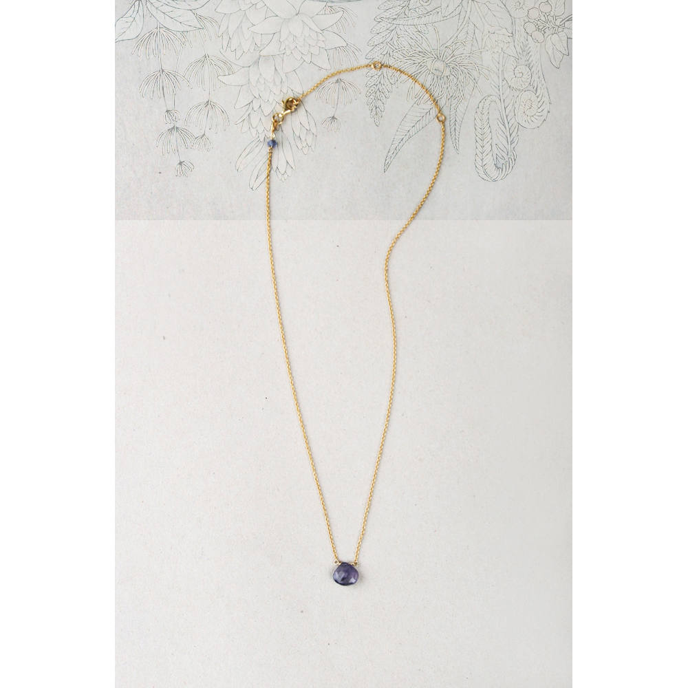 drop necklace products mlpieces down iolite