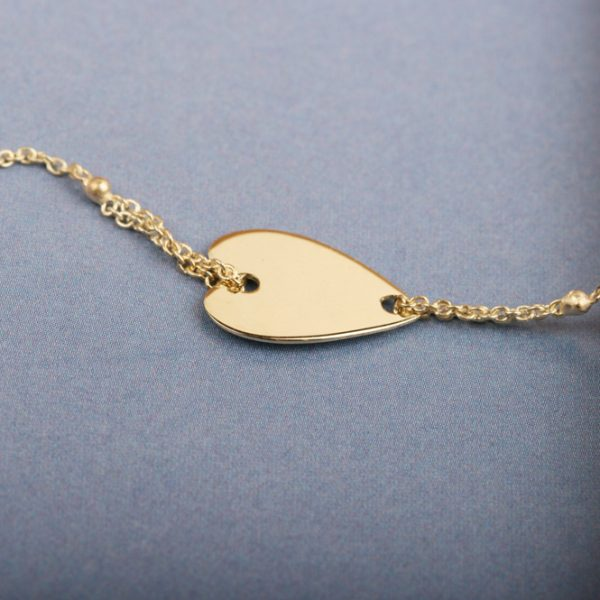 Bracelet with shape and chain (11)