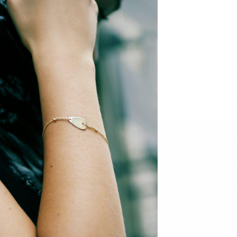 Ginocchio ardente. Bracelet (heart)