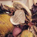 Ciondolo in argento a forma di cuore personalizzabile con iniziale, testo, simboli o disegno _Incisione con calligrafia del cliente _ maschio gioielli milano