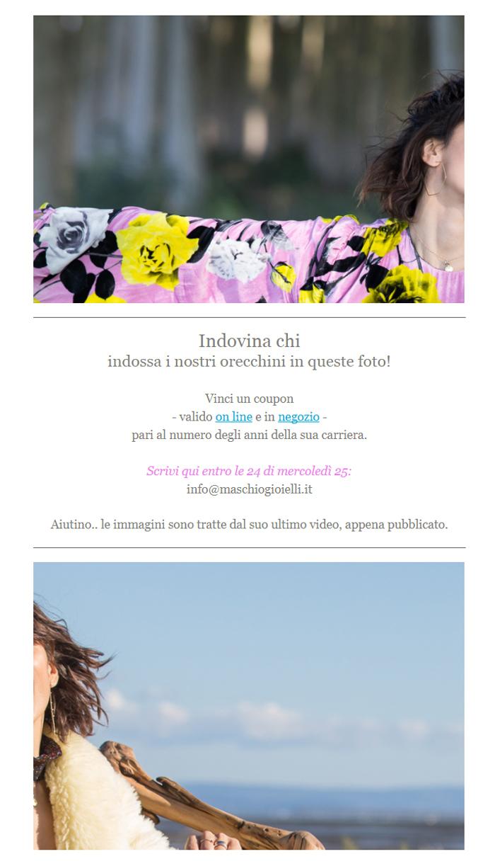 Newsletter Maschio Gioielli _ Indovina Chi _ ottobre 2017