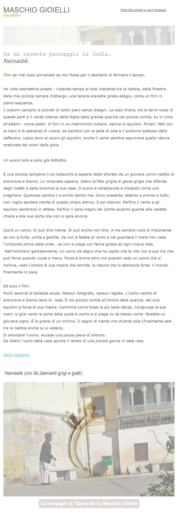 Newsletter_ Namasté