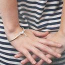 Silver pipe bracelet (1)