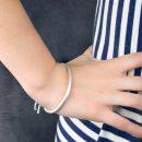 Silver pipe bracelet (2)