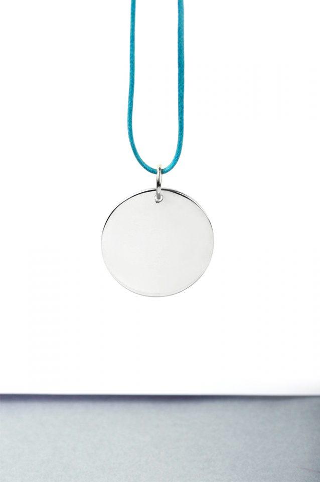 Cerchi di sabbia. Silver pendant