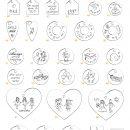 Esempi di scritte e disegni da incidere su ciondoli e anelli _ maschio gioielli milano