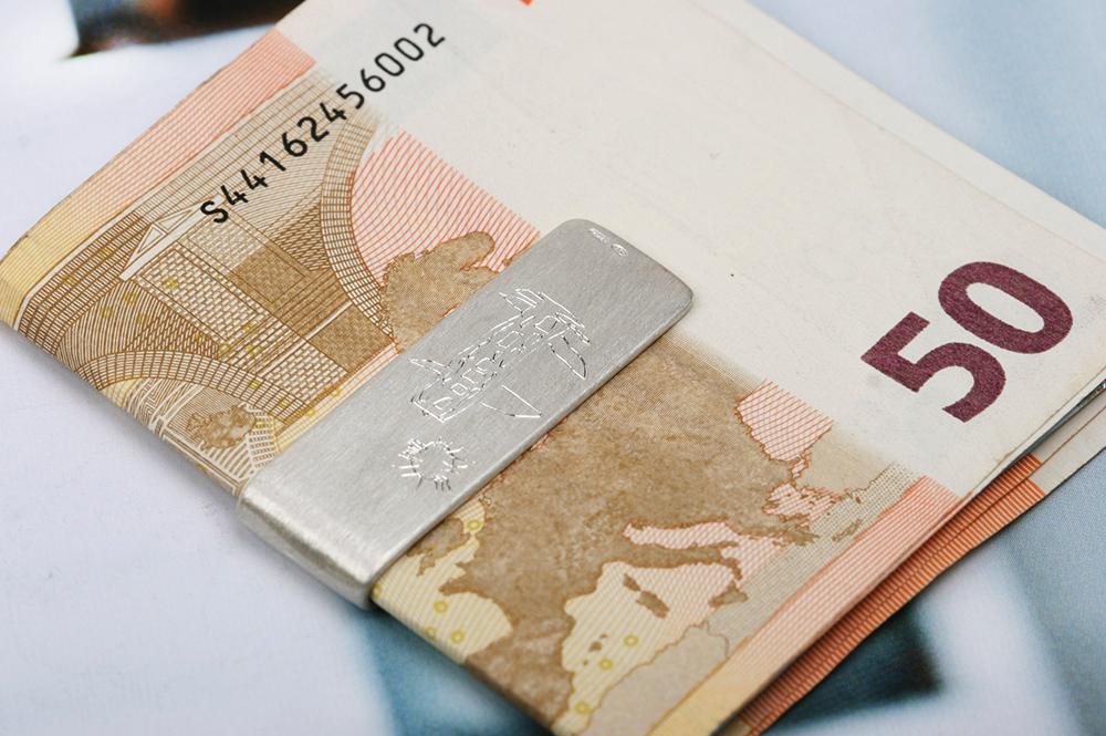 Trillionaire. Money Clip