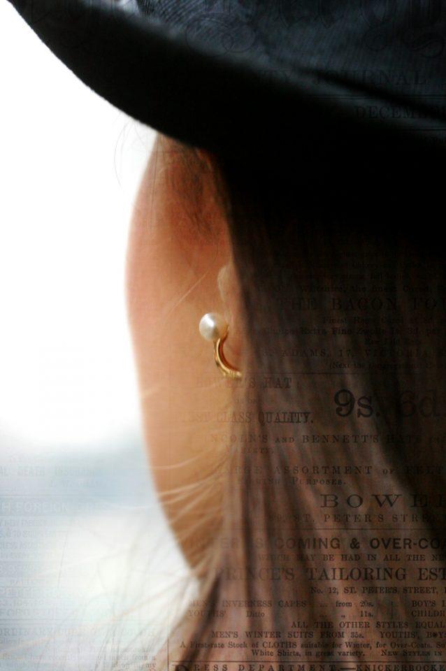 Sussurro in bianco. Earrings