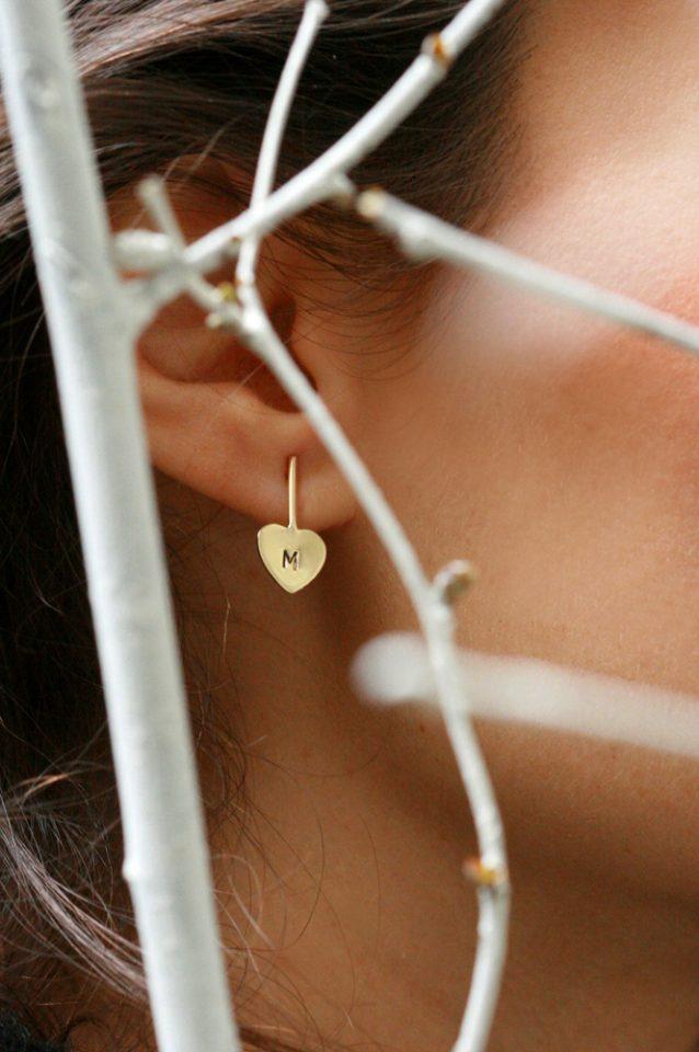 Liquido cuore. Earrings