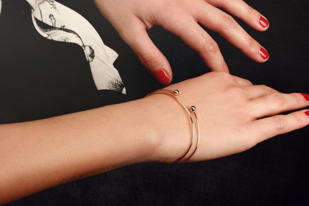 Fil d'amour. Bracelet
