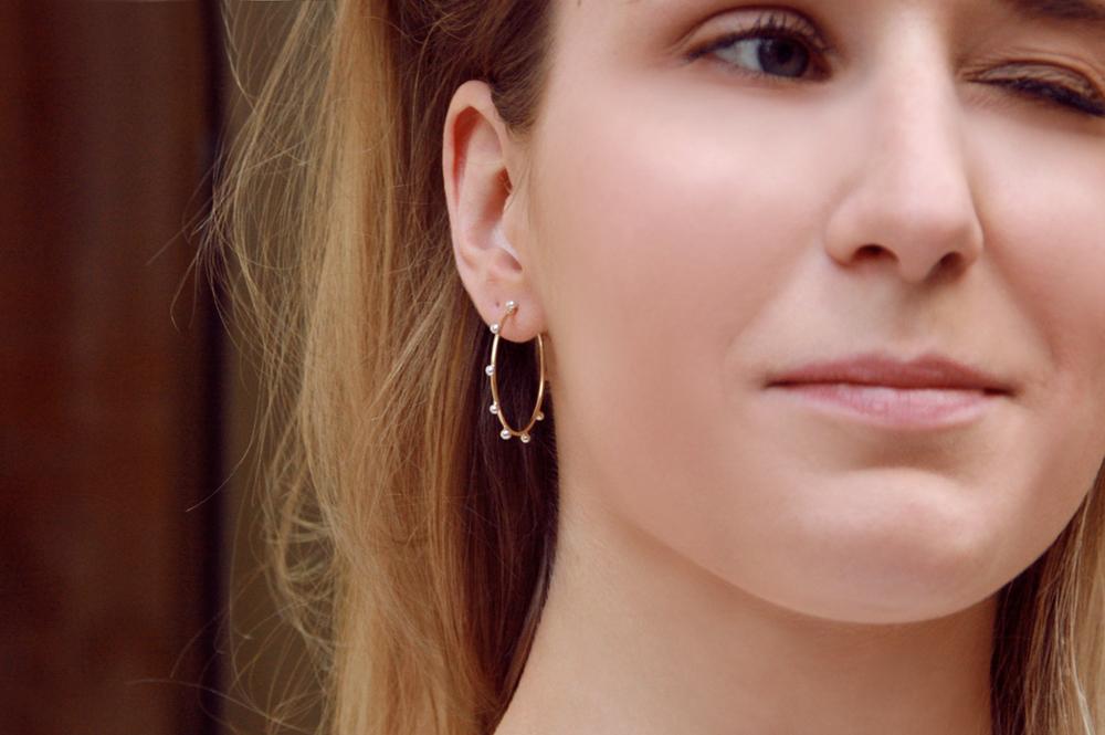 Il lessico delle lentiggini. Single earring (vers. 4)