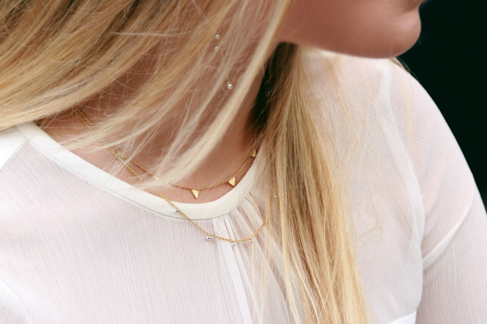 Il lessico delle lentiggini. Necklaces
