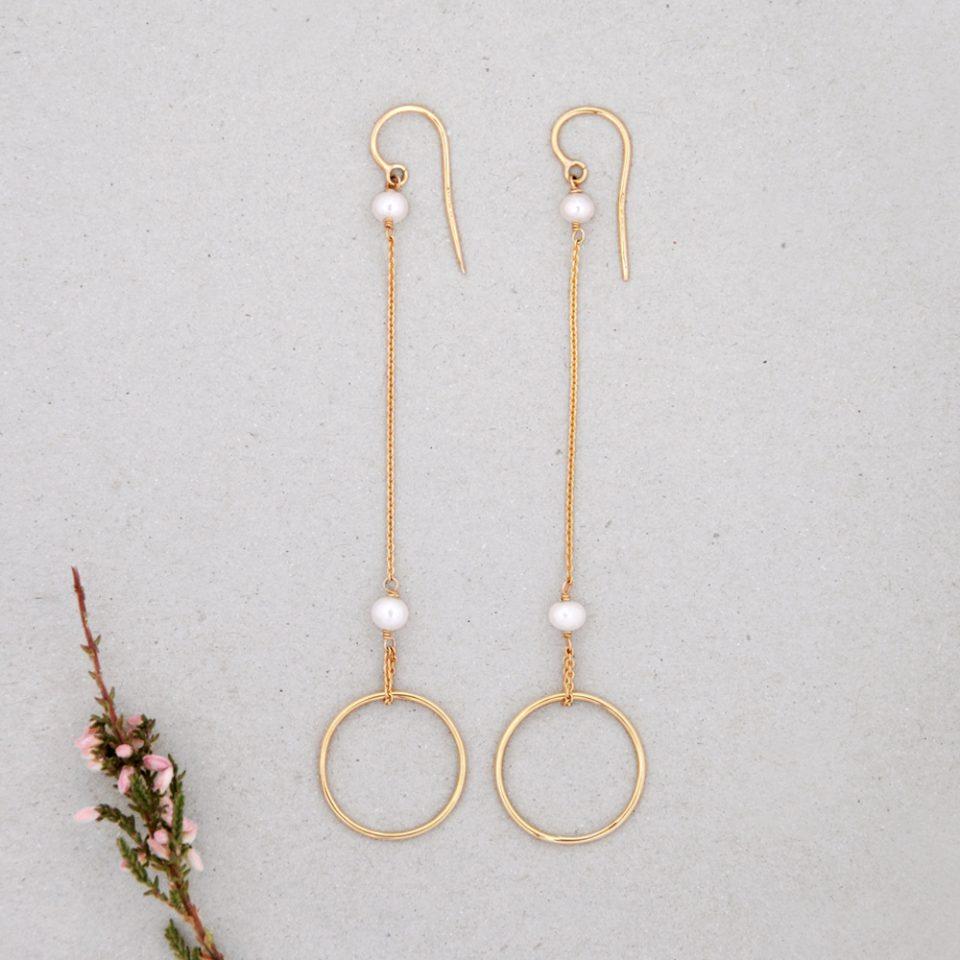 Il ciliegio di Minami. Earrings