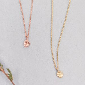 Gold Simple long thin chain necklaces with sliding irregular roundish nuggets _ no closure _ maschio gioielli milano