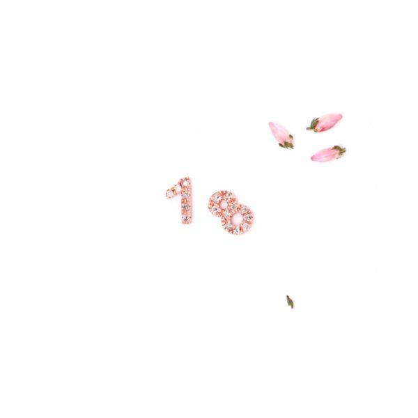 Numeri in oro rosa e diamanti ghiacciati silver per personalizzare il tuo ciondolo _ maschio gioielli milano (4)