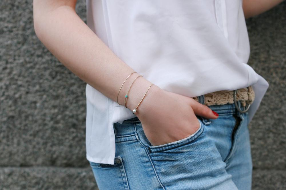Passaggio semplice. Bracelet