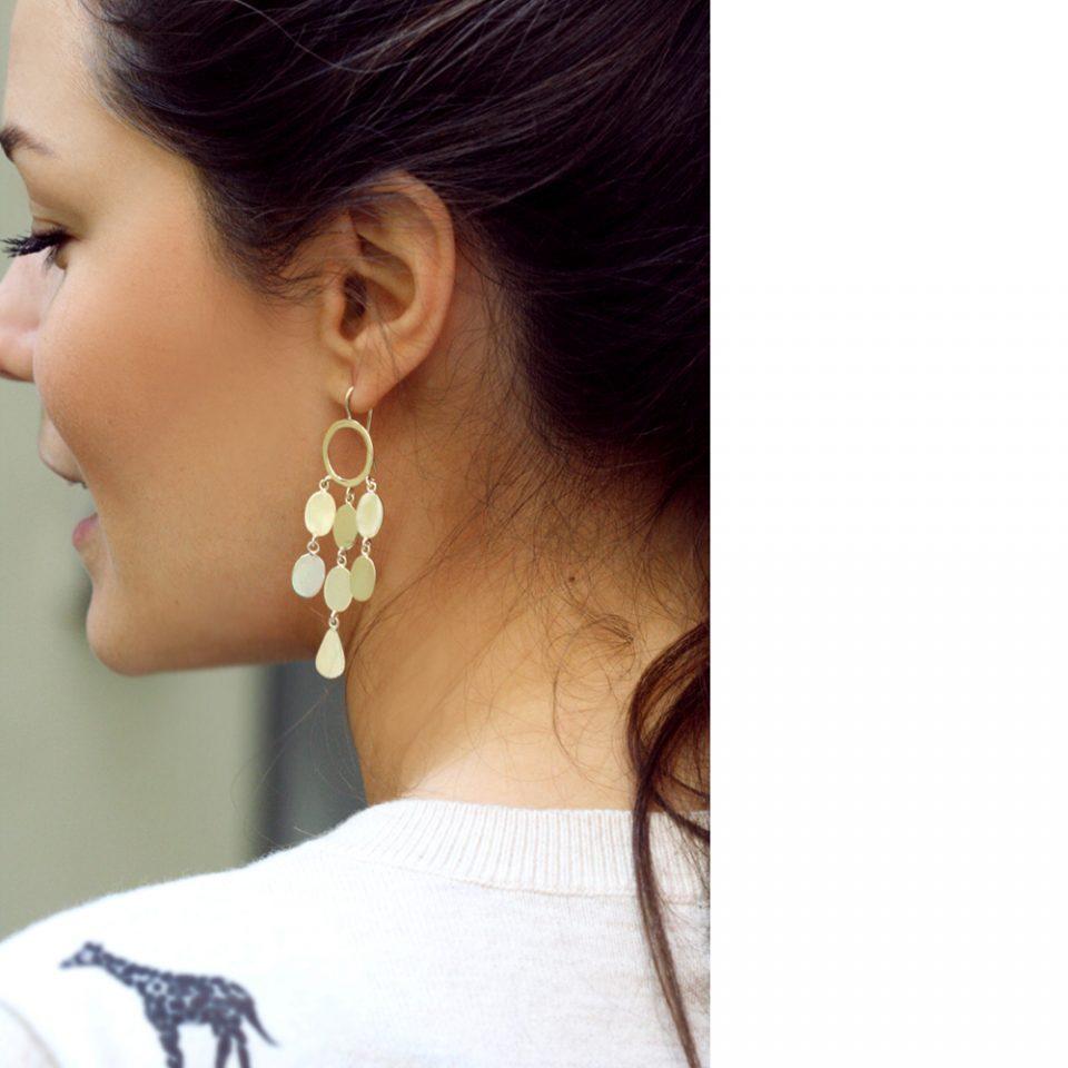 La regina scalza. Earrings