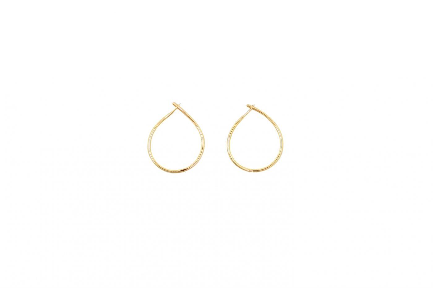 Small pluck. Earrings