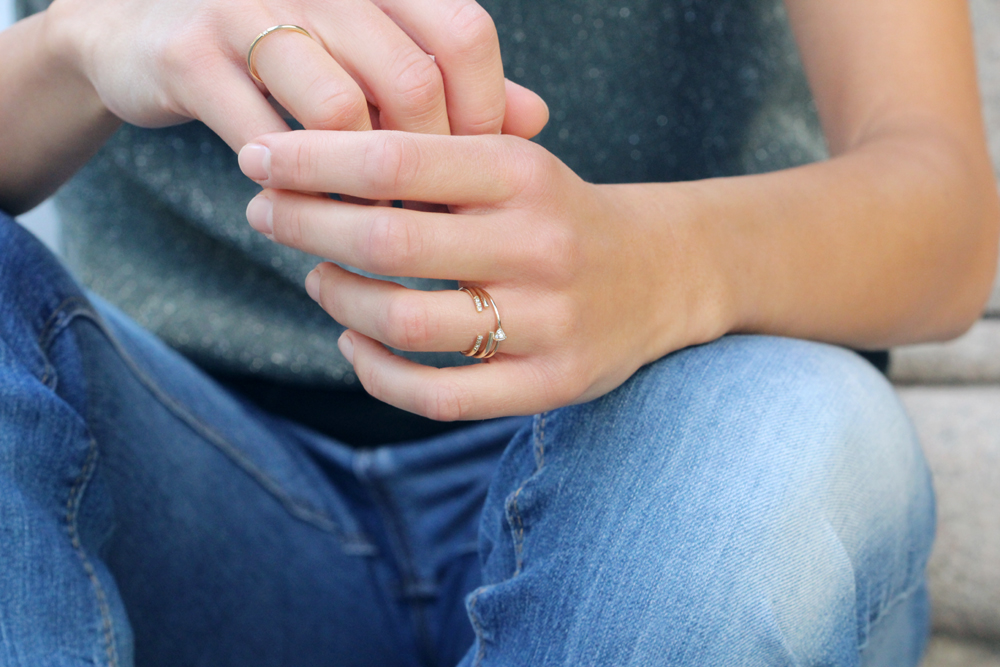 Gentile Nuvola (Diamonds). Ring