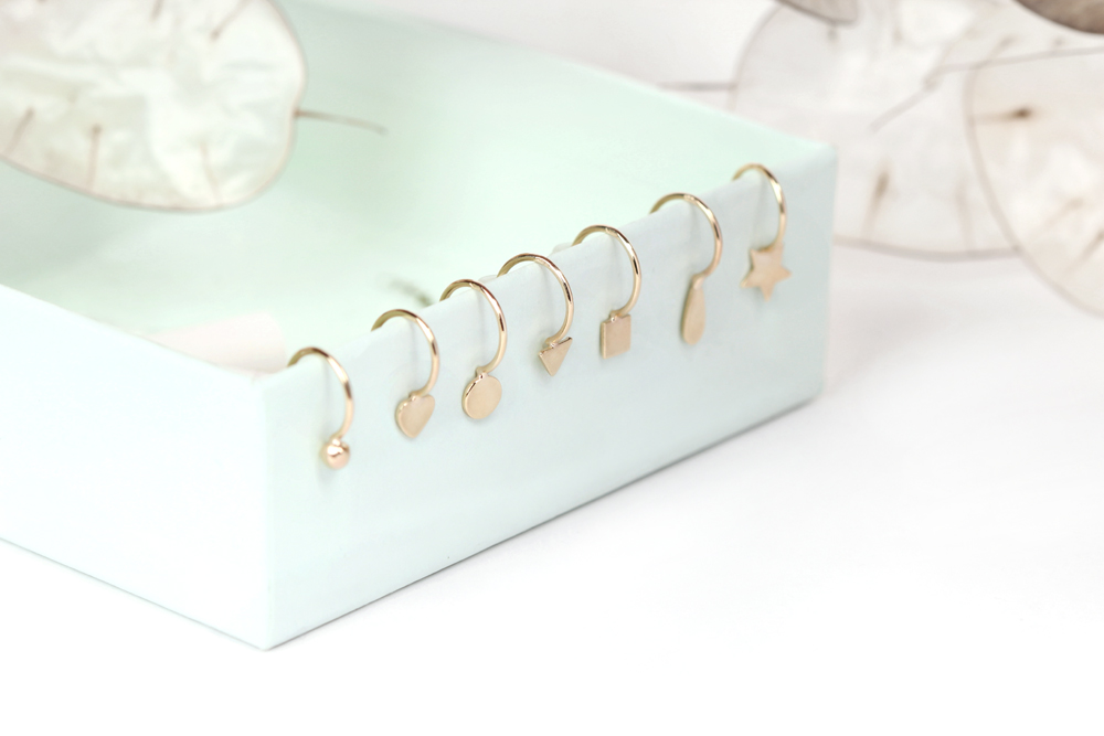 Ancora un po 39 orecchino maschio gioielli milano shop for Design gioielli milano