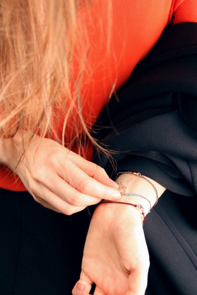 Notazione del poi. Bracelet