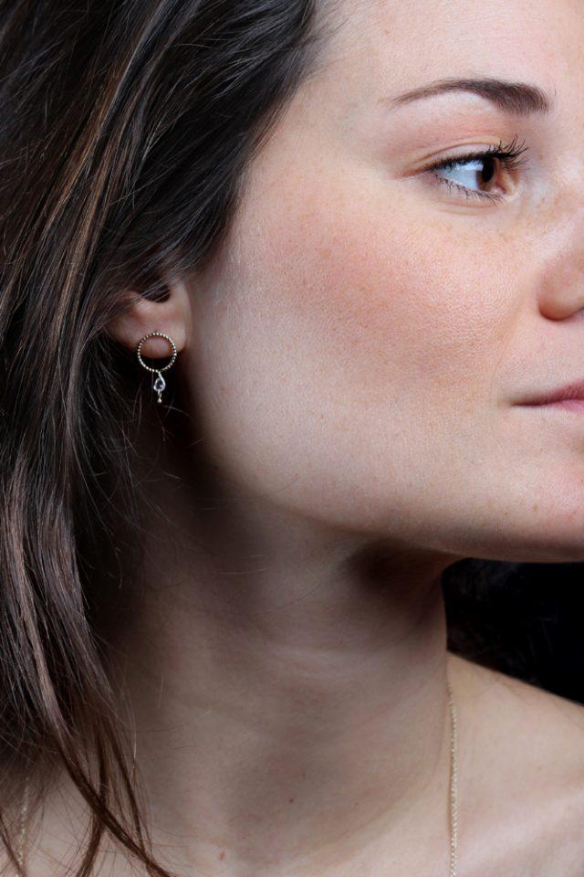 Ascolto del punto. Earrings