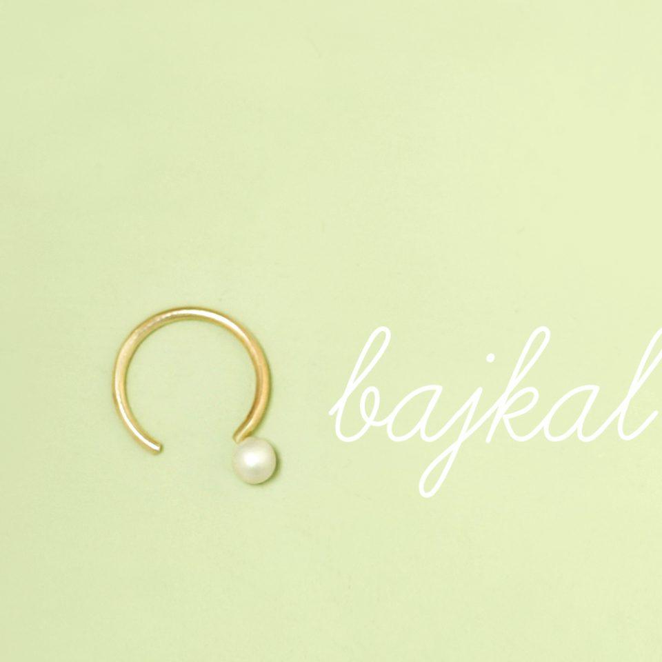 Bajkal. Single earring