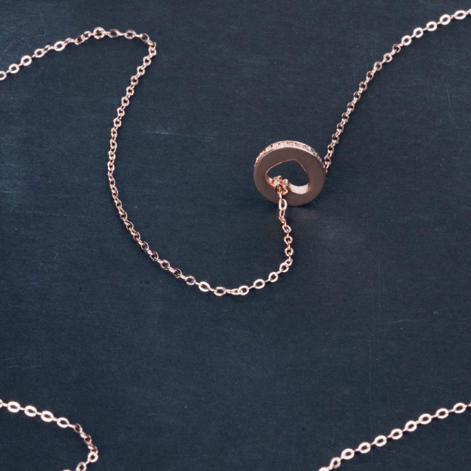 Un Cuore in coda. Necklace