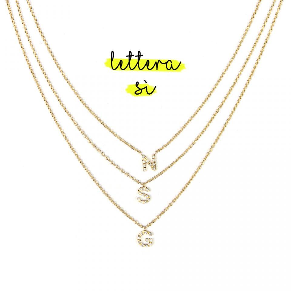 Lettera Sì. Necklace