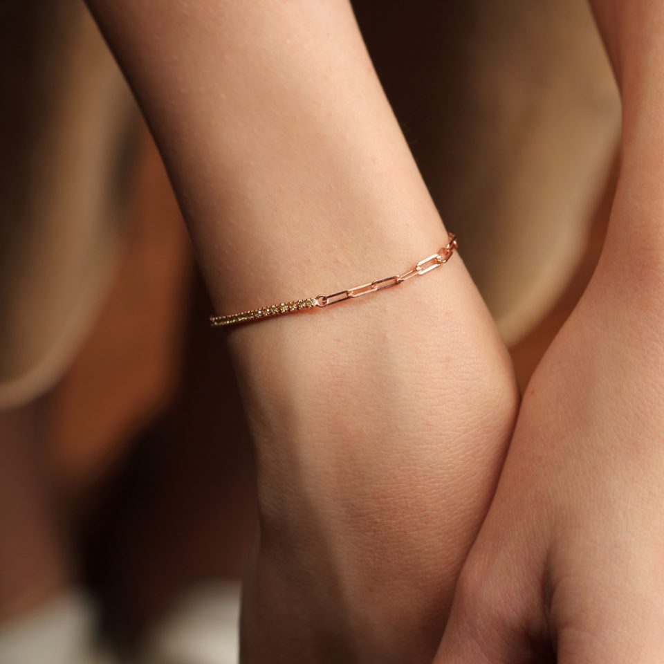 Emozione a catena. Bracelet