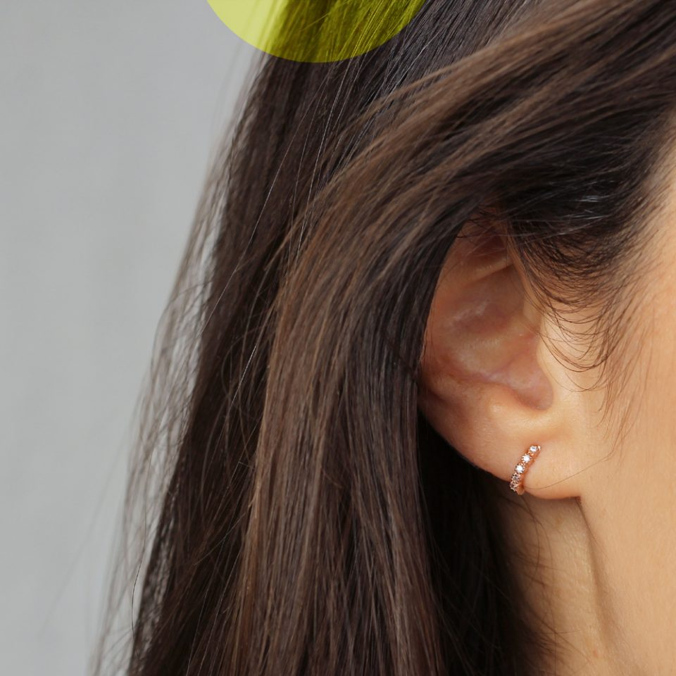 Shimmer Mell. Earrings
