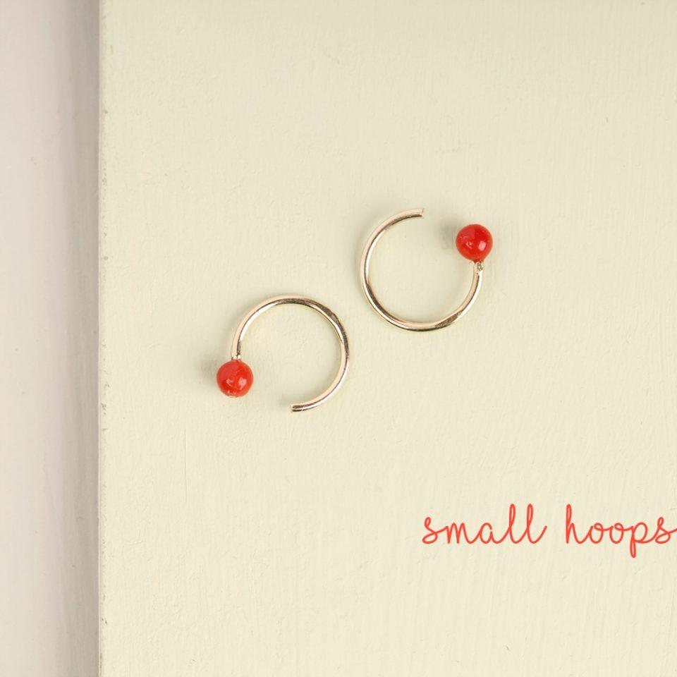 Rosso Lato Nostro. Single earring