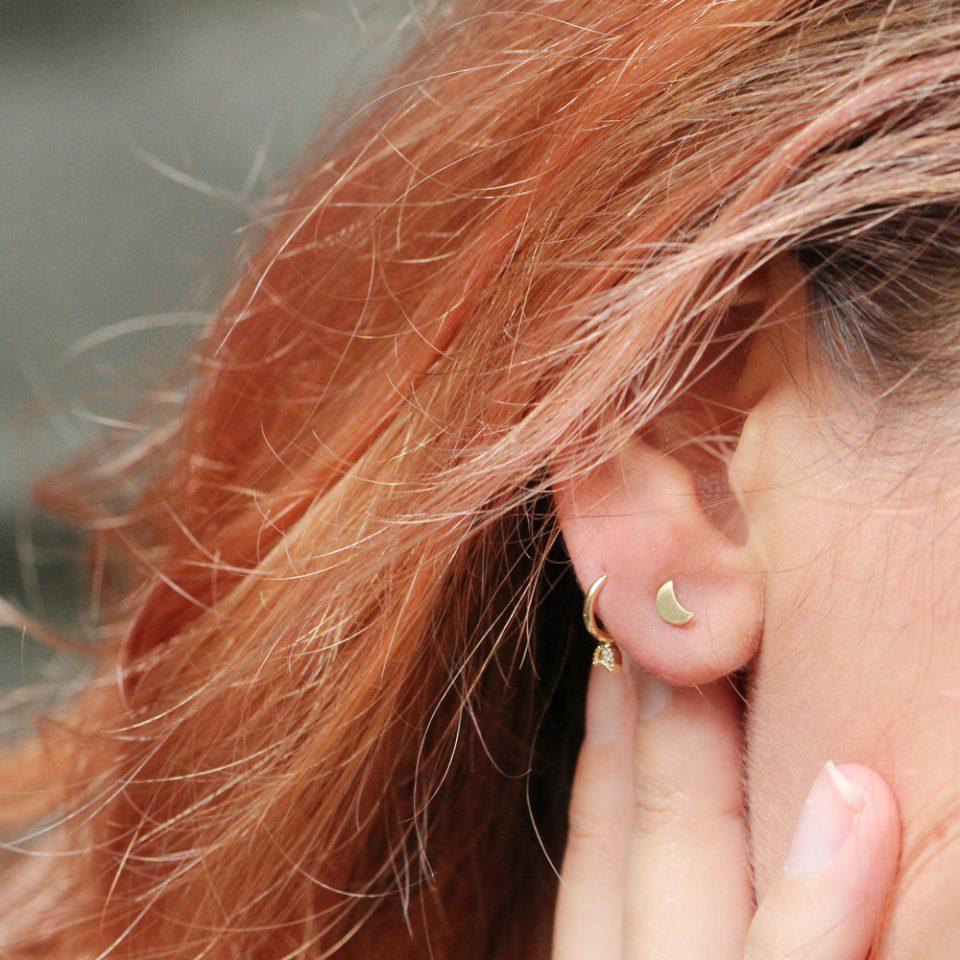 Freckles 06. Single earrings