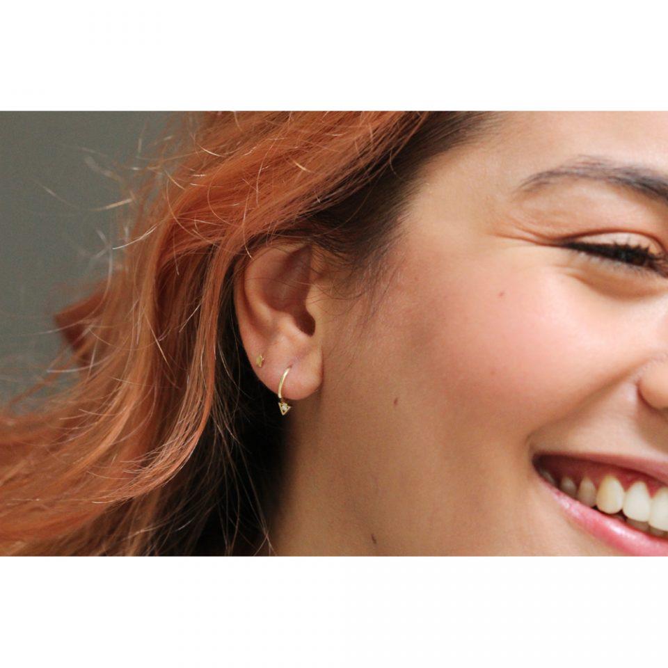 Freckles 08. Single earrings