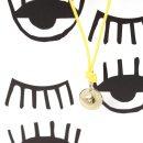 Small pendant with eye in yellow gold and diamond _ maschio gioielli milano (4)