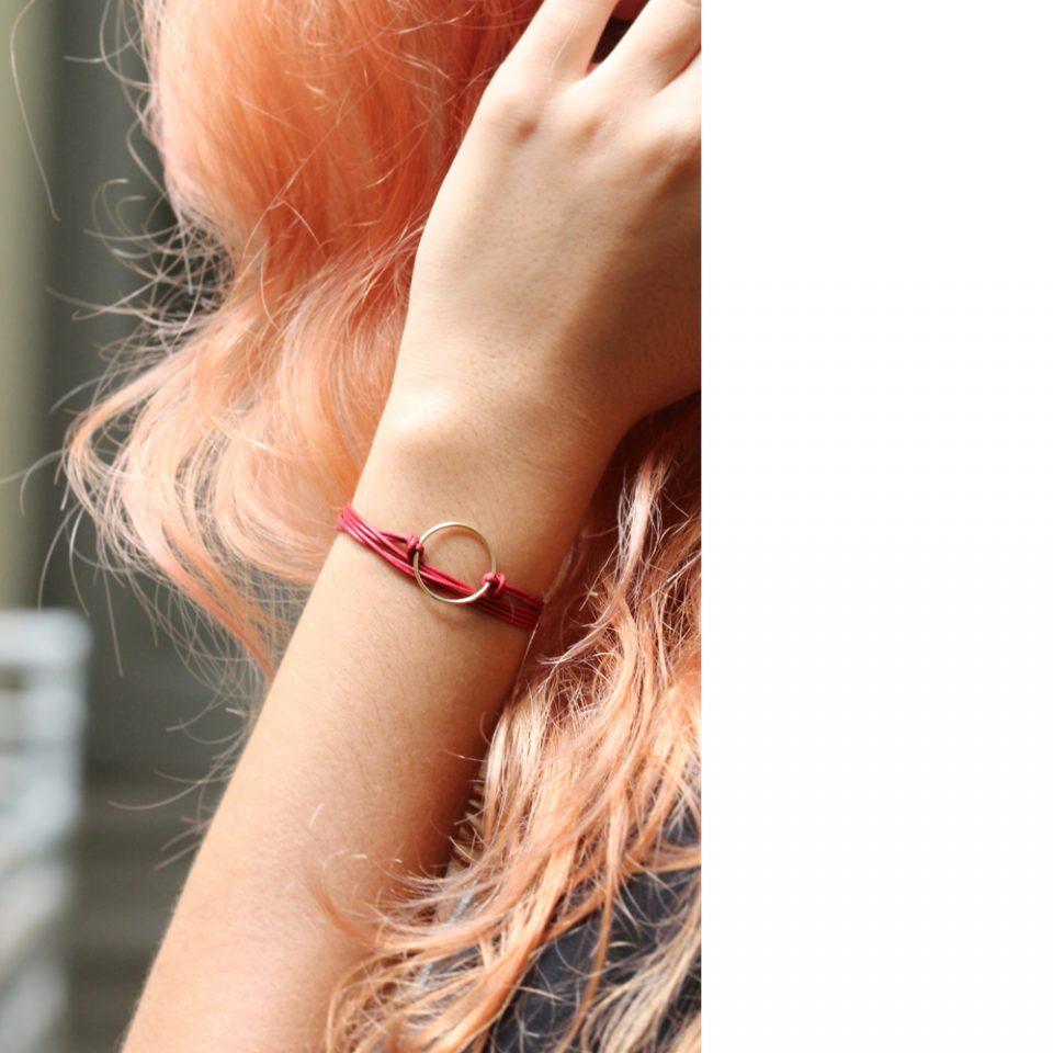 Petalo Blu, l'altro. Bracelet