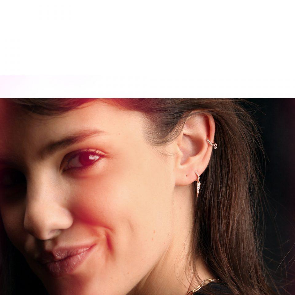 Bling bling. Earrings