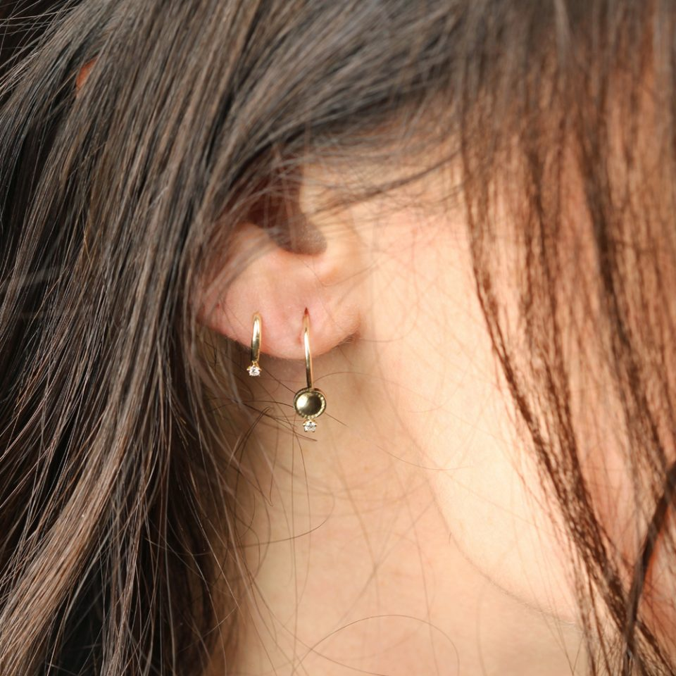 Birkin 06. Single earring