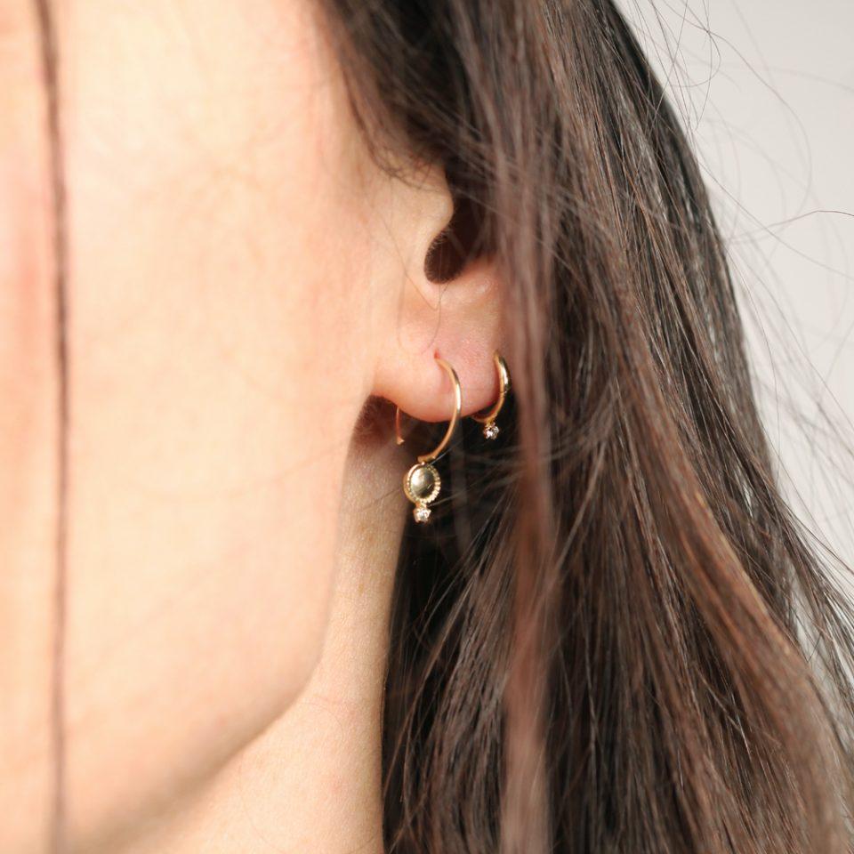 Ti guardo da qui. Single earring