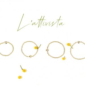 Thin chain solitaire rings handmade in gold and diamond _ maschio gioielli milano (16)
